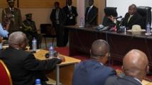Le président ougandais Yoweri Museveni a ouvert les négociations politiques pour le Burundi le 15 juillet avant de laisser la place à son ministre de la Défense. AFP PHOTO / LANDRY NSHIMIYE