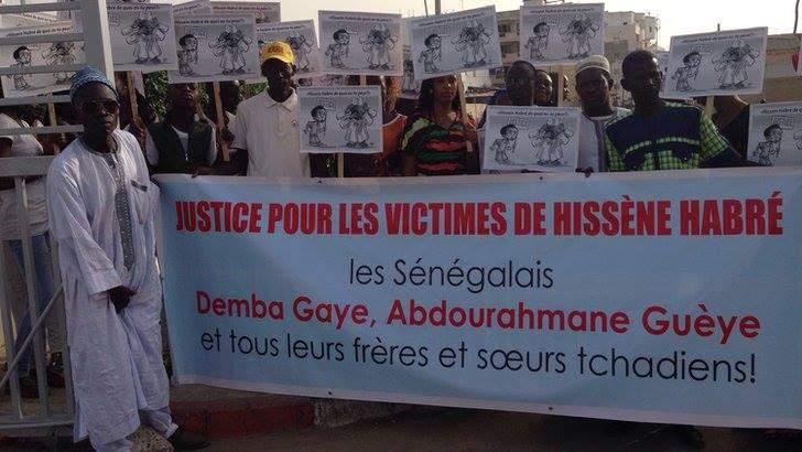 Des images du procès de Hissein Habré !