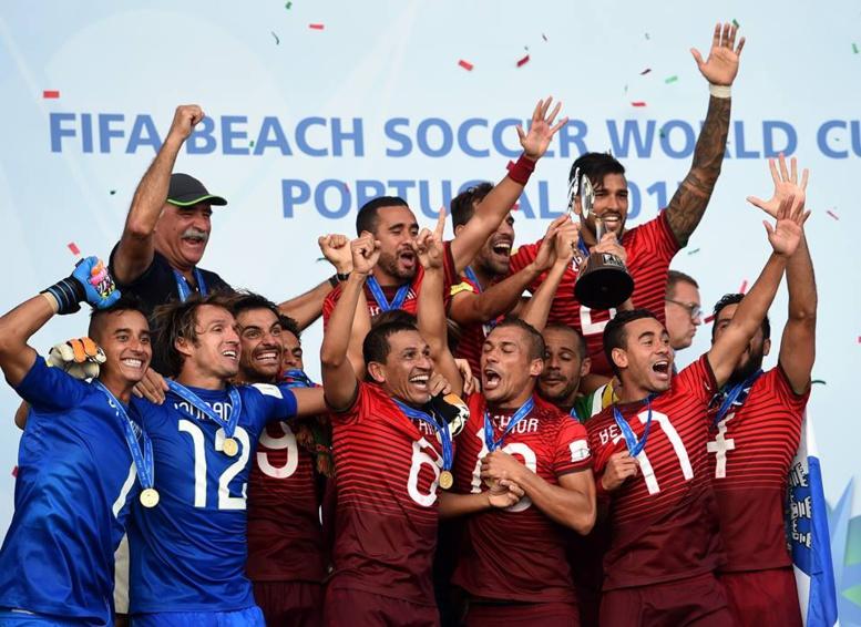 Beach soccer : Le Portugal roi du monde