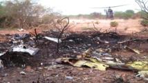 Un hélicoptère de l'armée française se pose à proximité du site du crash du vol Air Algérie, dans le nord du Mali, le 25 juillet 2014. Reuters/ECPAD