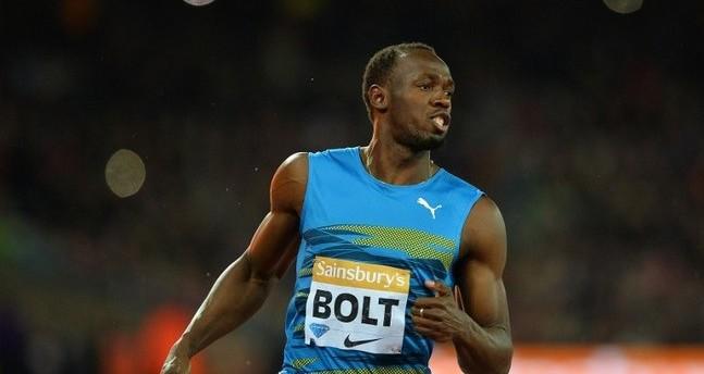 Athlétisme: Usain Bolt signe son retour en 9 sec 87'