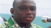 Kouadio Konan Bertin lorsqu'il était président des jeunes du Parti démocratique de Côte d'Ivoire. Facebook.com