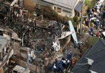 JAPON : trois morts dans le crash d'un avion de tourisme à Tokyo