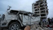 L'attentat revendiqué par les Shebabs visait un hôtel de la capitale Mogadiscio abritant des délégations diplomatiques étrangères dont celle du Kenya, très impliqué dans la lutte contre les jihadistes somaliens au sein de l'Amisom. REUTERS/Feisal Omar