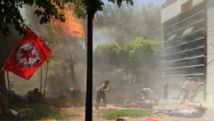 L'attentat meurtrier de Suruç le 20 juillet 2015, attribué à l'EI, est à l'origine du virage stratégique du gouvernement turc à l'égard de l'organisation terroriste. AFP PHOTO / DICLE NEWS AGENCY