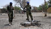 Les environs du Lac Tchad sont régulièrement la cible d'attaques de Boko Haram, comme ici à Ngouboua, en avril dernier. AFP PHOTO / PHILIPPE DESMAZES
