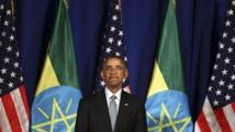 Le président américain Barack Obama lors du premier jour de sa visite en Ethiopie, le 27 juillet 2015. REUTERS/Tiksa Negeri