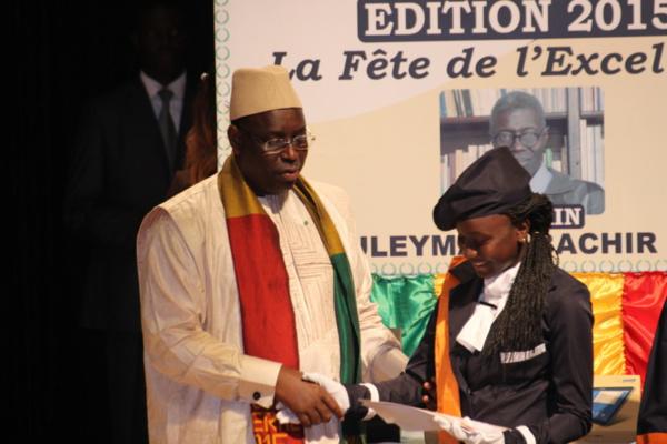 Concours général 2015 : le président Sall annonce la tenue d'un conseil présidentiel sur la qualité de l'enseignement
