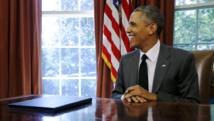 A cinq mois de la conférence de Paris, Barack Obama annonce un plan de lutte inédit contre le réchauffement climatique. REUTERS/Jonathan Ernst