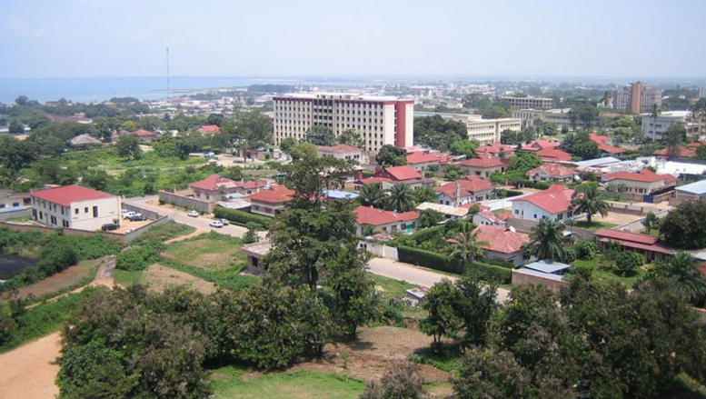 Vue de Bujumbura, capitale du Burundi. Wikimedia