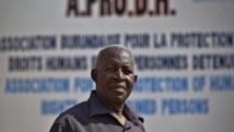 Le président de l'Aprodh, Pierre-Claver Mbonimpa. AFP PHOTO / CARL DE SOUZA