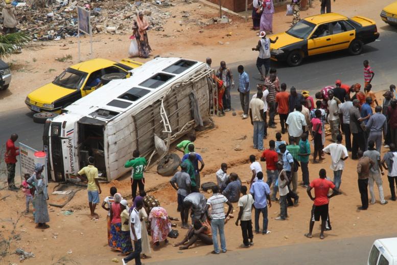 Série macabre sur les routes : 7 morts enregistrés en 48 heures