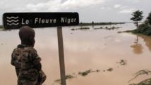 Le fleuve Niger est encore sorti de son lit. AFP PHOTO / OXFAM