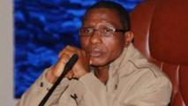 Moussa Dadis Camara lors d'une rencontre à Ouagadougou le 15 janvier 2010