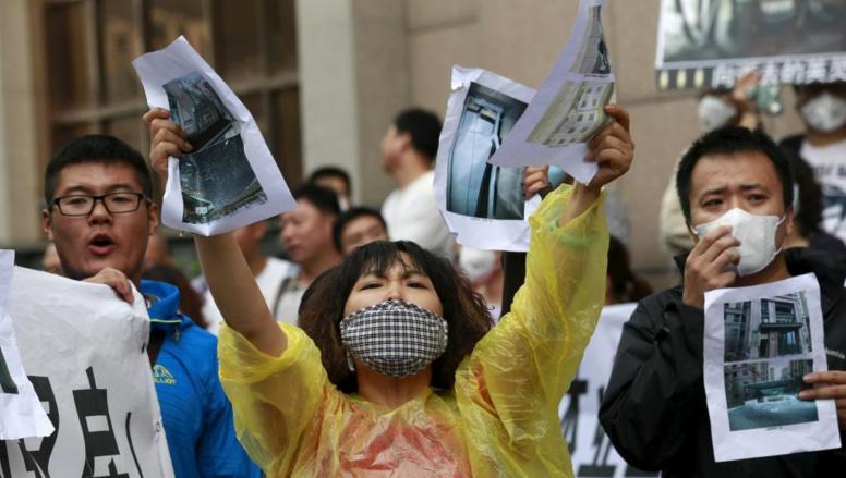 Catastrophe de Tianjin en Chine: la colère noire des habitants