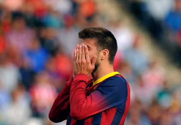 Fc Barcelone : Piqué suspendu 4 matchs