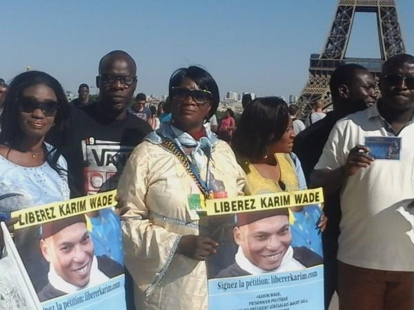 Soutient à la marche de Dakar : les militants du Pds assiègent le consulat du Sénégal à Paris