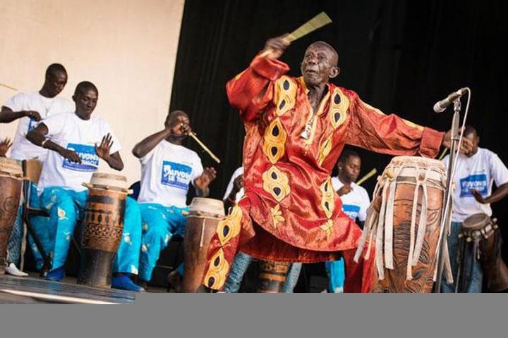 La dernière prestation de Doudou Ndiaye Rose en juillet
