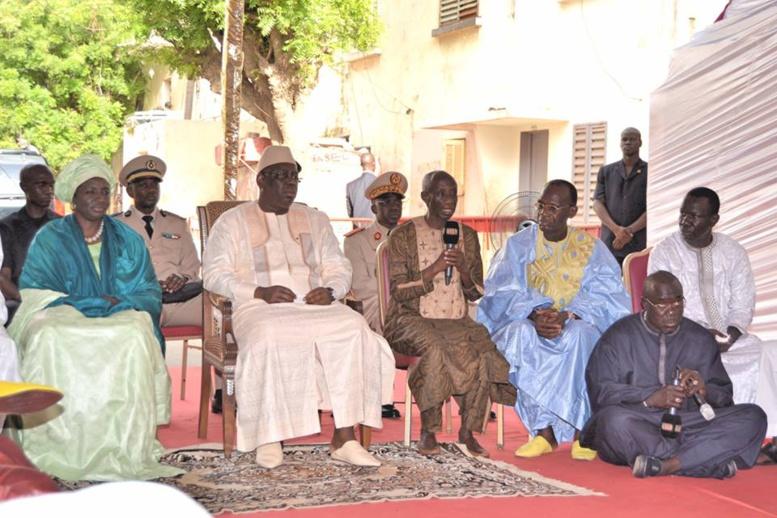 Macky Sall présente ses condoléances à la famille de Doudou Ndiaye Rose