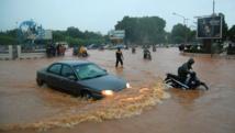 Ouagadougou, la capitale du Burkina Faso, sous les eaux, ici en 2009. AFP / Ahmed Ouoba