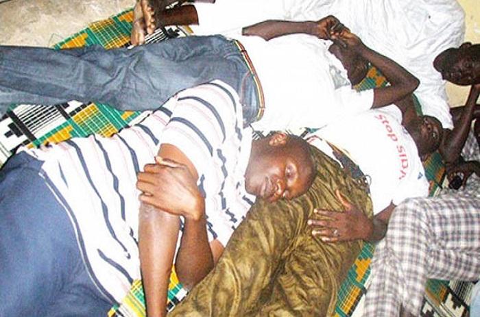 Sias : 10 des 1300 ex travailleurs en grève de la faim depuis hier.