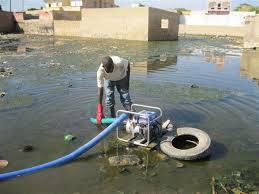 Guinaw Rail Sud : le maire Abdoulaye Diop dénonce la mauvaise gestion des inondations