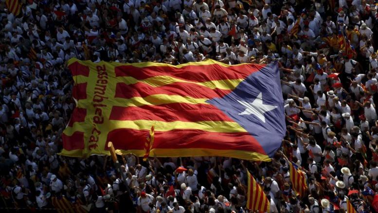 Barcelone: plus d'un million de manifestants pour une Catalogne indépendante