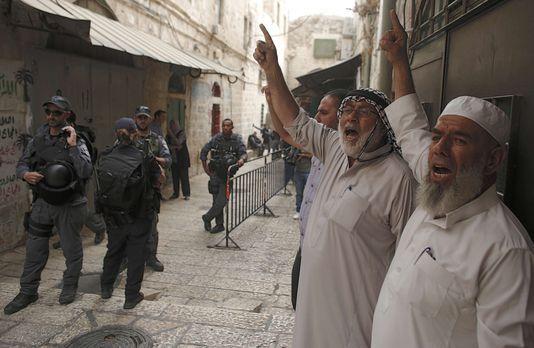 Jérusalem-est: affrontements sur l'Esplanade des Mosquées