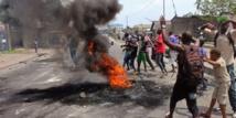 RDC : violents heurts en marge d'une manifestation de l'opposition à Kinshasa