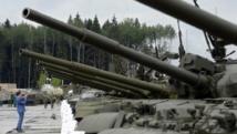 Sept chars russes repérés en Syrie par les Américains