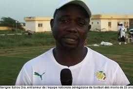 « Ramener l'or au pays et rendre hommage à Mamadou Saliou Ndiaye ''lampard''…Serigne Saliou Dia, entraineur  national