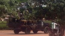 Des membres du RSP, le Régiment de sécurité présidentiel, à Ouagadougou ce jeudi 17 septembre. REUTERS/Joe Penney