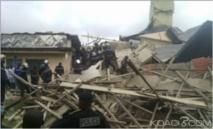 Cameroun : Kongmondo, effondrement d'un immeuble en construction de 5 niveaux