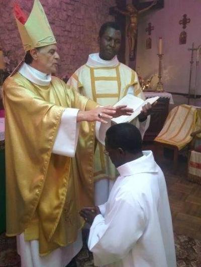 Le sénégalais Jean Pierre Diouf ordonné diacre permanent dans le diocèse de Grenoble