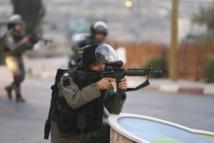 Selon le Croissant-Rouge palestinien, plus de 150 Palestiniens ont été blessés en 48 heures, touchés par des balles réelles ou des projectiles caoutchoutés de l'armée israélienne. PHOTO MOHAMAD TOROKMAN, REUTERS