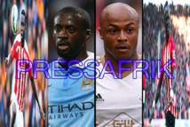 Sadio Mané, Ayew, Touré et les nommés pour le joueur africain de l'année