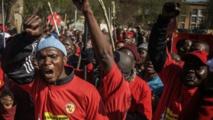 Marche anticorruption en Afrique du Sud