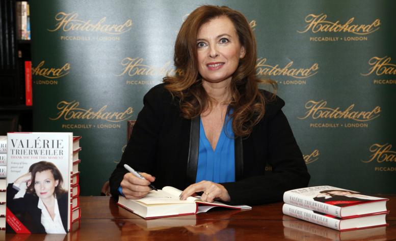 Valérie Trierweiler : « le bilan de ma notoriété ? Du négatif »