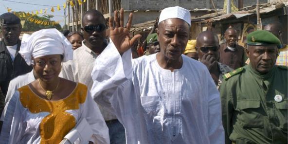 Guinée : la réélection d'Alpha Condé au 1er tour accueillie dans le calme
