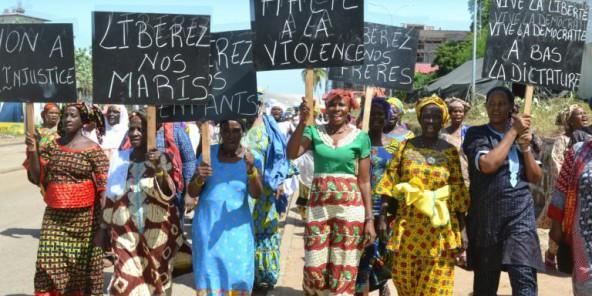 Guinée : manifestation de femmes pour la libération d'opposants