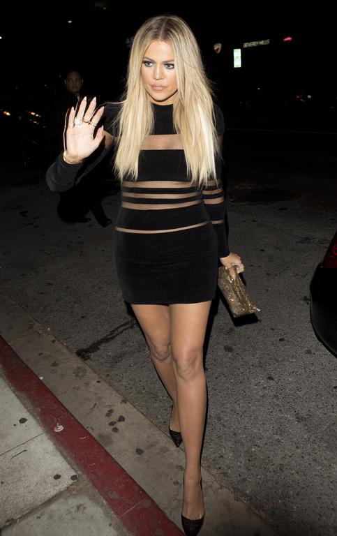 Khloé Kardashian répond aux critiques sur son poids : «  je ne me suis jamais trouvée grosse.