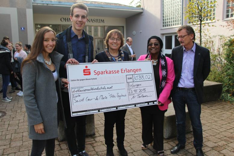 2 millions pour l'école de Thiès Peykouk, le lycée «Ohm» d'Erlangen en Allemagne danse pour la bonne cause