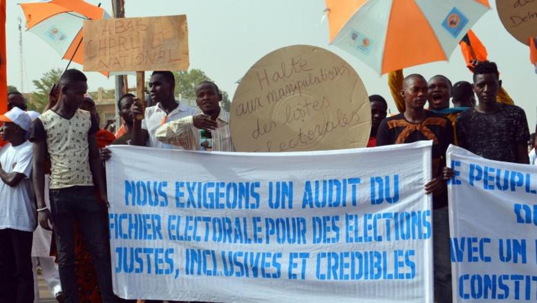 Niger: l'opposition dans la rue réclame l'audit du fichier électoral