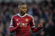 West Ham: Diafra Sakho blessé