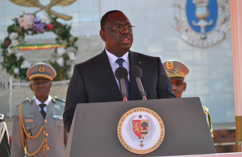 Le président Sall aux Forces Armées: «La menace la plus aiguë reste assurément le terrorisme»
