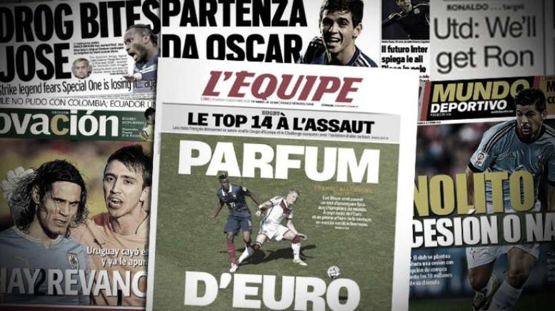 Drogba pique Mourinho, Cavani mis sous pression