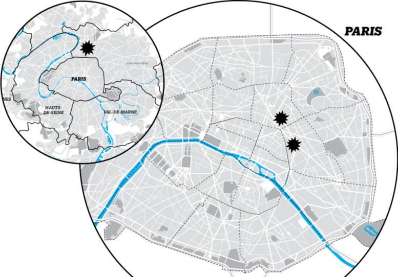 Direct Fusillades: ambiance très lourde à Paris