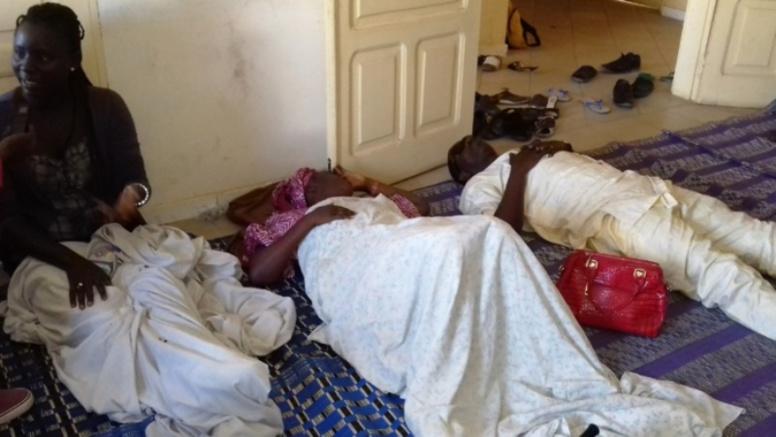 Grève de la faim: 4 ex-agents des défuntes agences sous perfusion à l'hôpital de Thiaroye