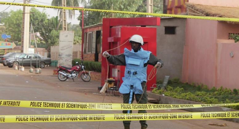 Alerte Mali : Fusillade à Bamako, 3 morts et 170 otages