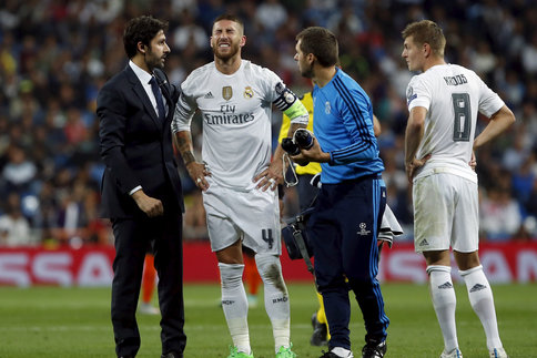 Sergio Ramos incertain pour le Clasico